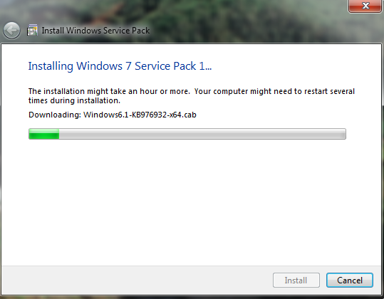 Windows 7 Service Pack 1 is here! | Another Technology Blog